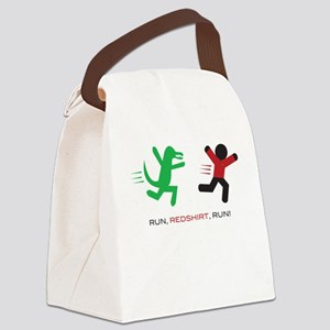 Run, Redshirt, Run! Canvas Lunch Bag